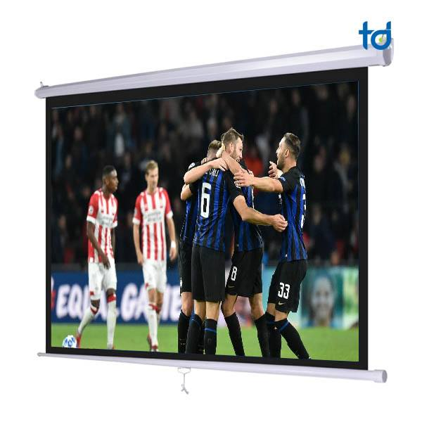 Man chieu 150 Inch treo tuong