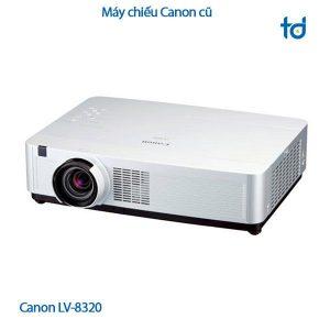 Máy chiếu cũ Canon LV 8320 -tranduccorp.vn