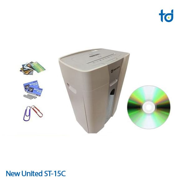 new united ST-15C huy giay cd and dvd