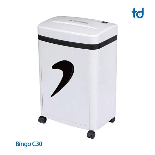 may huy giay bingo C30