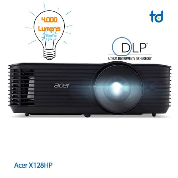 acer projector x128h 4000 ansi