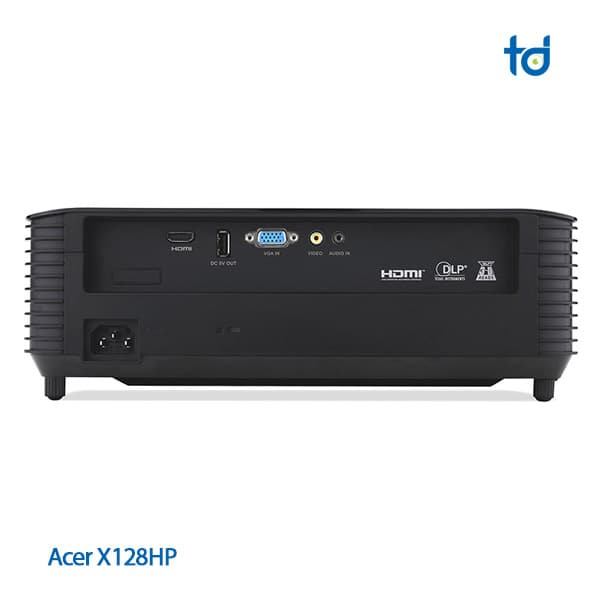 acer projector x128h interface
