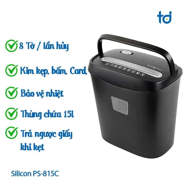 may huy giay silicon PS-815C