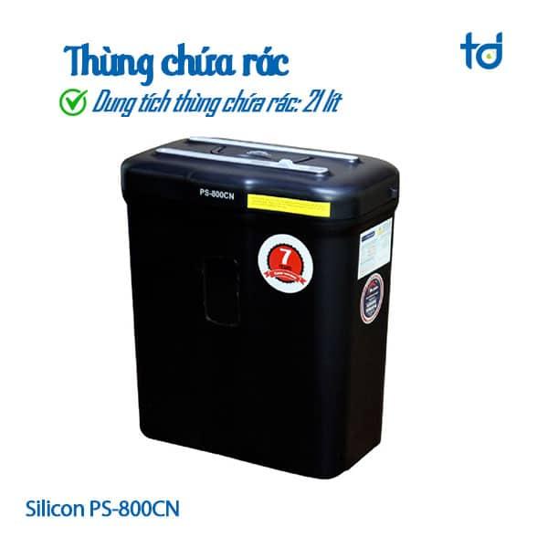 thung chua rac 21l silicon PS-800CN