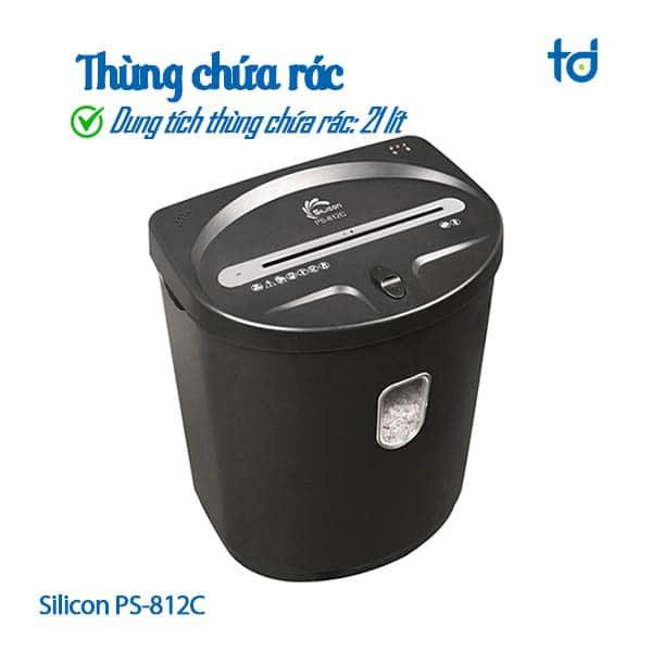 thung chua rac 21l silicon PS-812C